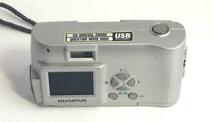 Olympus D-230 Manual - camera back side