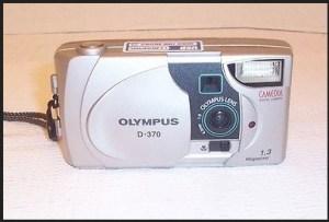 Olympus D-370 Manual - camera front face