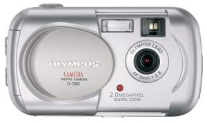 Olympus D-390 Manual User Guide and Product Specification