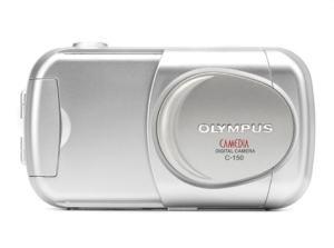 Olympus D-390 Manual - camera front face