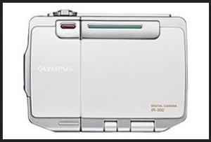 Olympus IR-500 Manual - camera front side