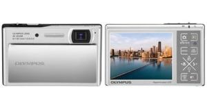 Olympus Stylus 1040 Manual - camera front and back side