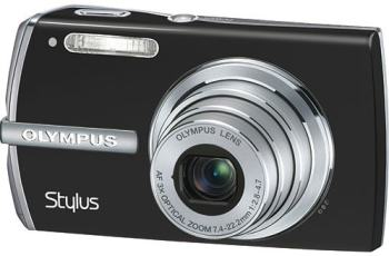 Olympus Stylus 1200 Manual - camera front face