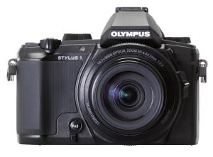 Olympus Stylus 1S Manual - camera front face