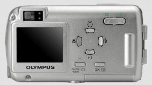 Olympus Stylus 400 Manual - camera back side