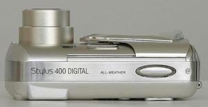 Olympus Stylus 400 Manual - camera side