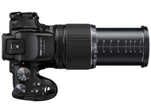 FujiFilm FinePix HS35EXR Manual - camera top side