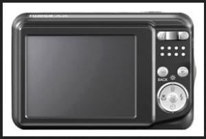 Fujifilm FinePix AX205 Manual - camera rear side