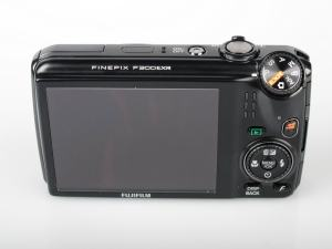 Fujifilm FinePix F300EXR Manual - camera back side