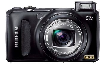 Fujifilm FinePix F305EXR Manual - camera front face