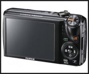 Fujifilm FinePix F305EXR Manual - camera rear side