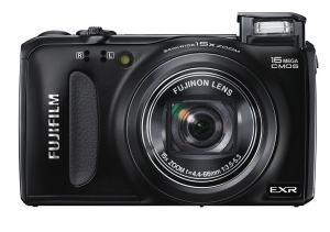 Fujifilm FinePix F665EXR Manual - camera front face