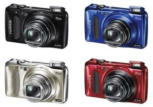 Fujifilm FinePix F665EXR Manual - camera variants