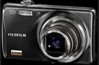 Fujifilm FinePix F85EXR Manual - camera front face