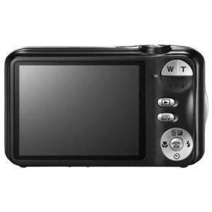 Fujifilm FinePix JV200 manual - camera rear side