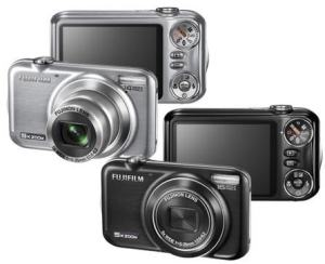 Fujifilm FinePix JX330 Manual - camera front and back side