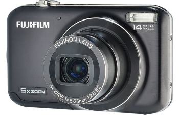 Fujifilm FinePix JX330 Manual - camera front face