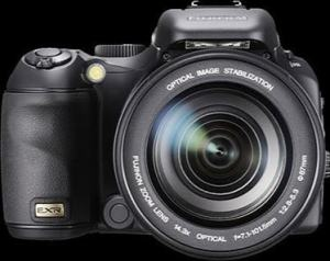 Fujifilm FinePix S205EXR Manual - camera front face