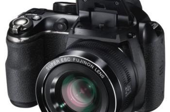 Fujifilm FinePix S4250 Manual - camera front side