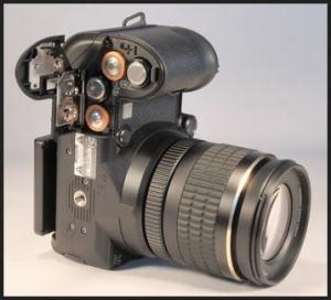Fujifilm FinePix S9100 Manual - camera bottom side