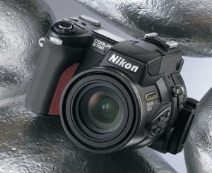 Nikon CoolPix 8700 Manual - Camera front face