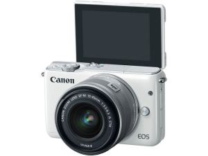 Canon EOS M10 Review - camera front side
