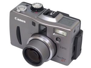 Canon PowerShot G1 Manual - camera front face