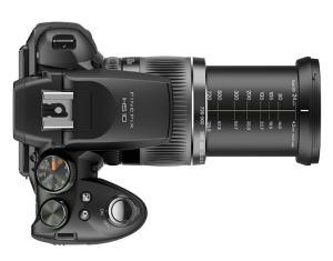 Fujifilm FinePix HS10 Manual - camera top side