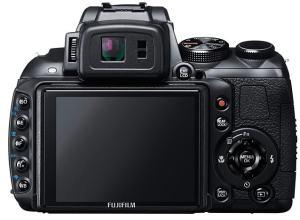 Fujifilm FinePix HS25EXR Manual - rear side