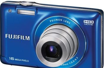Fujifilm FinePix JX580 Manual for Fuji's Impressive Point and Shoot Camera