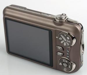 Fujifilm FinePix T200 Manual - camera rear side