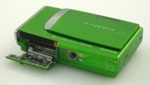 Fujifilm FinePix Z10fd Manual - camera side