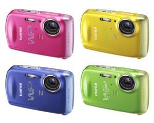 Fujifilm FinePix Z33WP Manual - camera variants