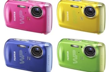 Fujifilm FinePix Z33WP Manual - camera variants