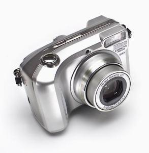 Nikon CoolPix 4800 manual - camera front face