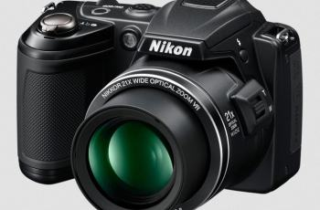 Nikon CoolPix L120 Manual-camera front face
