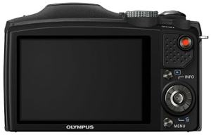 Olympus SZ-31MR iSH Manual - rear side