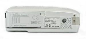 Olympus Stylus 500 Manual - camera side
