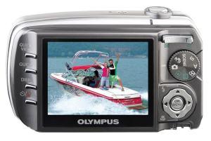 Olympus Stylus 800 Manual - camera rear side