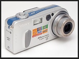 Sony DSC-P2 Manual user Guide and Product Specification