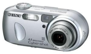 Sony DSC-P73 Manual - camera front face