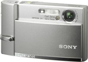 Sony DSC T-50 Manual - camera front face
