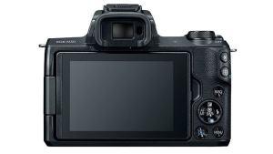 Canon EOS M50; camera rear side