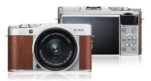FujiFilm X-A5 Review; Front and Rear Side