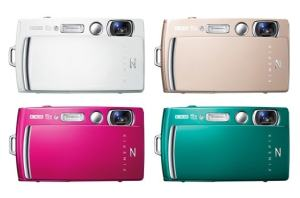 Fujifilm FinePix Z1010EXR Manual - camera variants