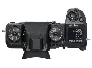 Fujifilm X-H1 Review; Camera Top Plate