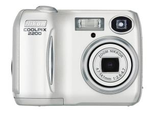 Nikon Coolpix 2200 Manual User Guide and Product Specification