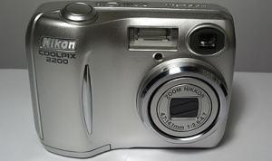 Nikon Coolpix 2200 Manual - front side