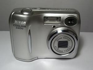 Nikon Coolpix 2200 Manual - front side