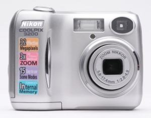 Nikon Coolpix 3200 Manual User Guide and Product Specification